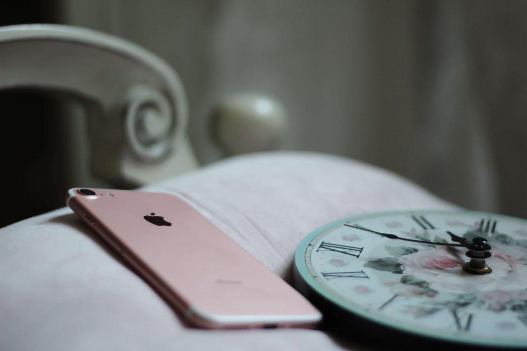 iphoneと時計