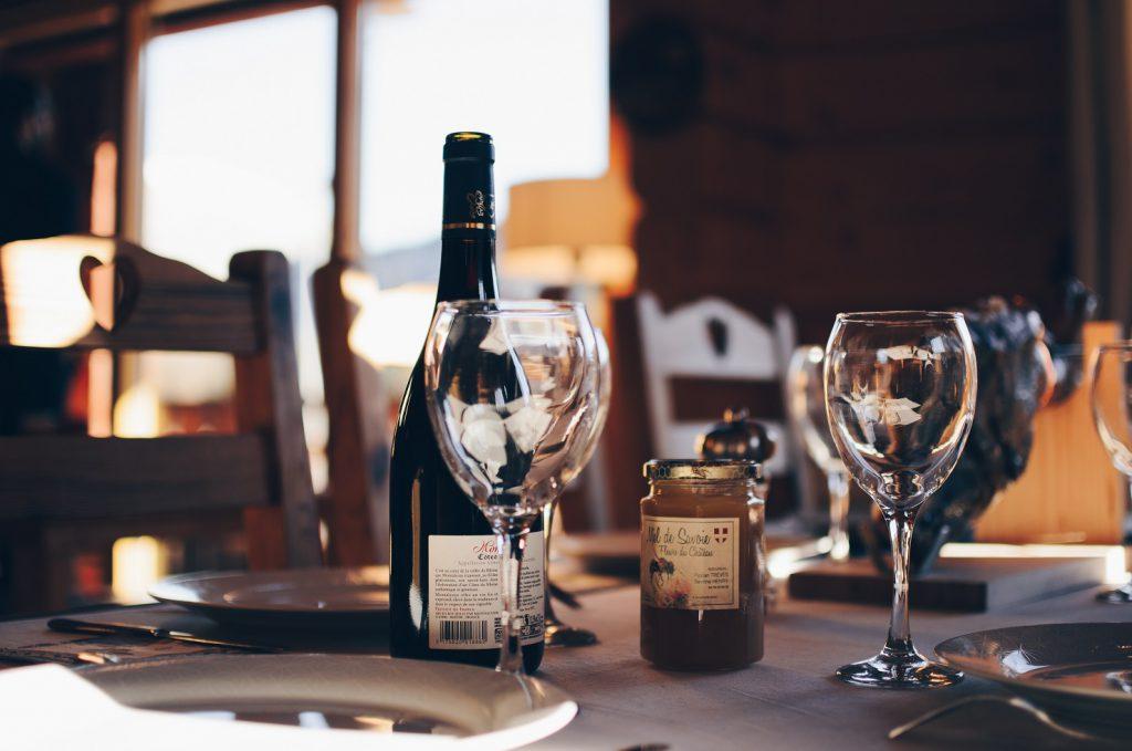 ワインと美味しい食事