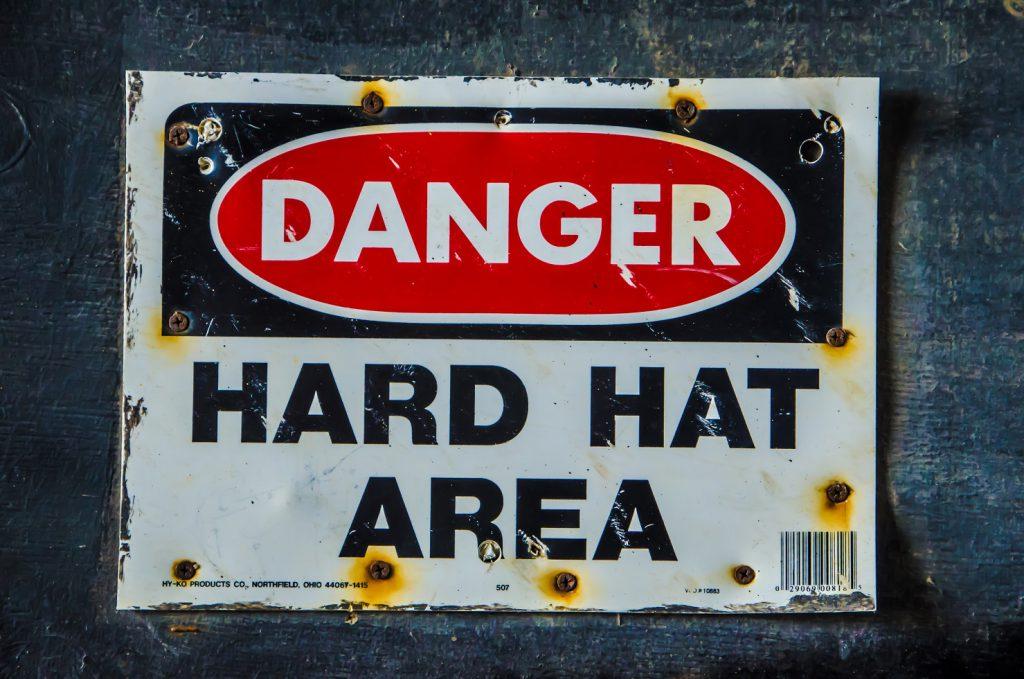 危険そうな看板